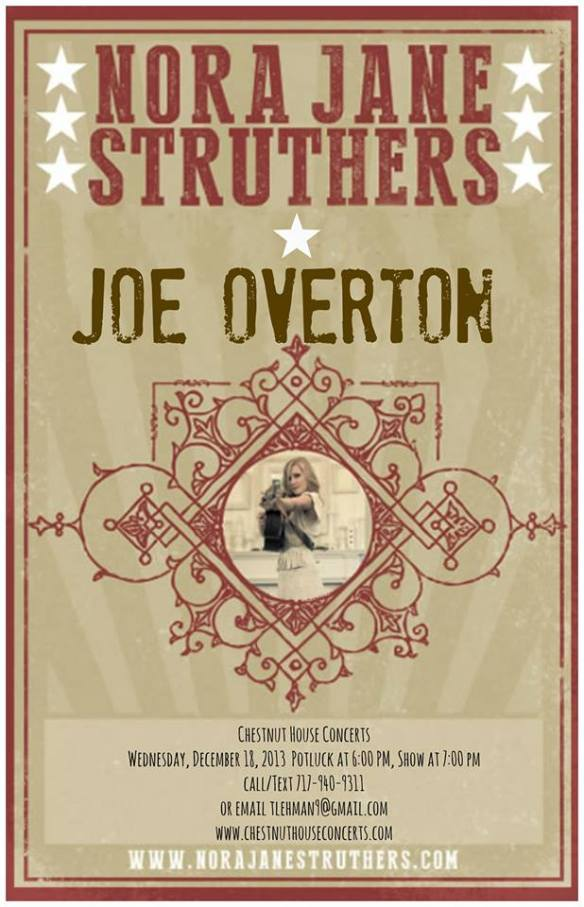 Duo:  Nora Jane Struthers / Joe Overton
